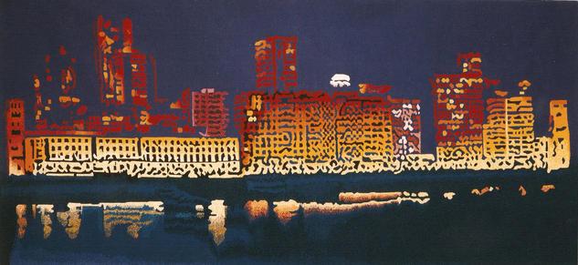 Coruña Noite Tapices Textil