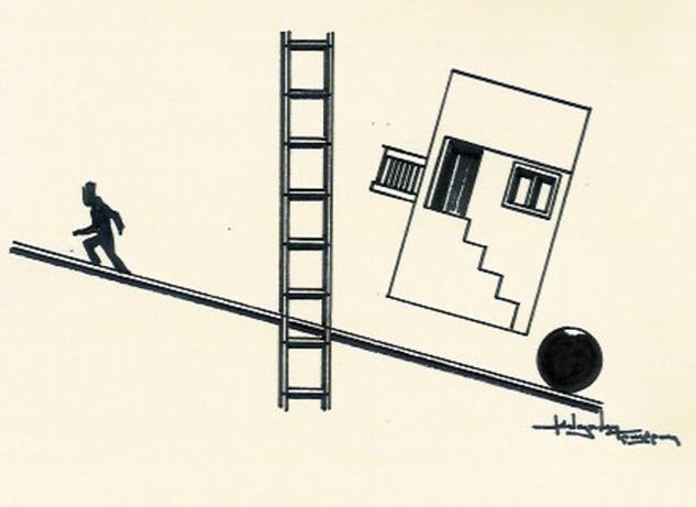 sketch / balance Tinta Papel Bodegones
