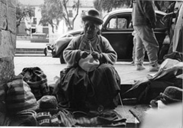 Mujer de Cusco Blanco y Negro (Química) Fotoperiodismo y documental