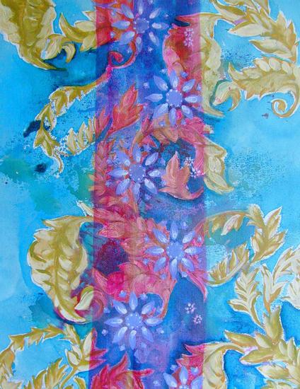 florais III Floral Acrílico Tela