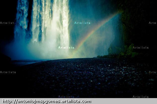 Waterfall Travel Color (Digital)