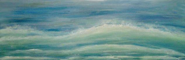 Océano Atlántico 1 Lienzo Media Mixta Marina