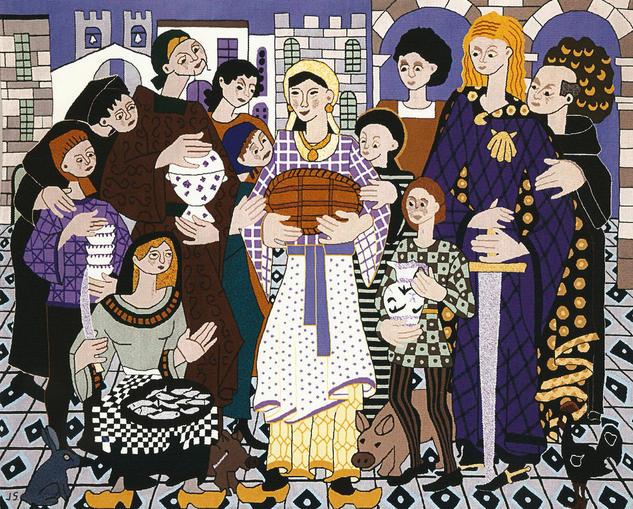 Homenaxe a Empanada Tapices Textil