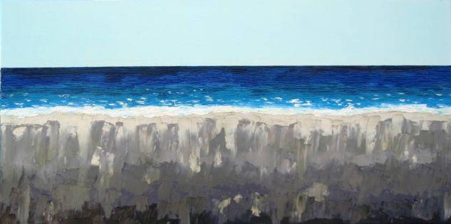Marina Oil Canvas Marine Painting