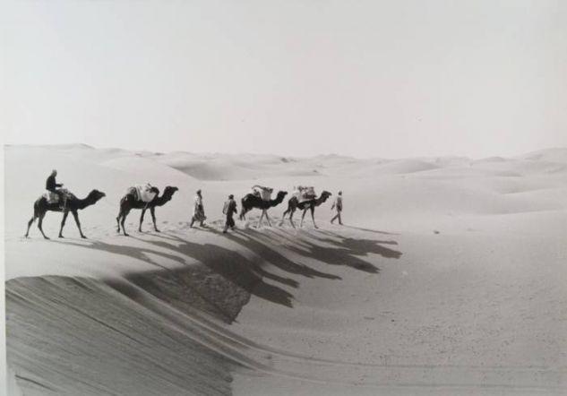 Por el desierto de Merzouga Viajes Blanco y Negro (Química)