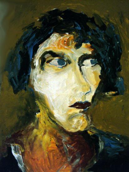Isadora  Retrato Acrílico Tela
