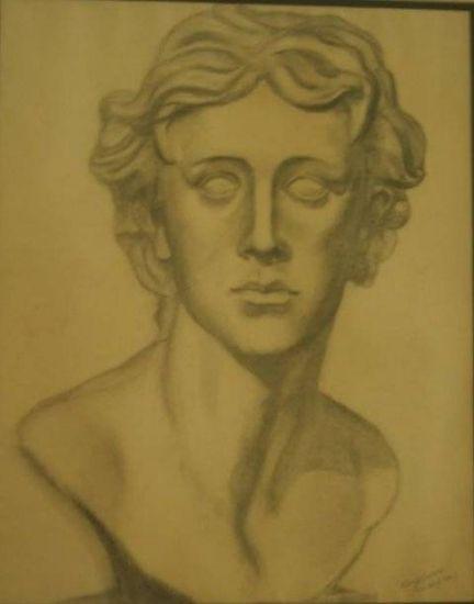 Alexandre Grafito Papel Retrato