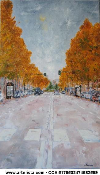 calle de otoño