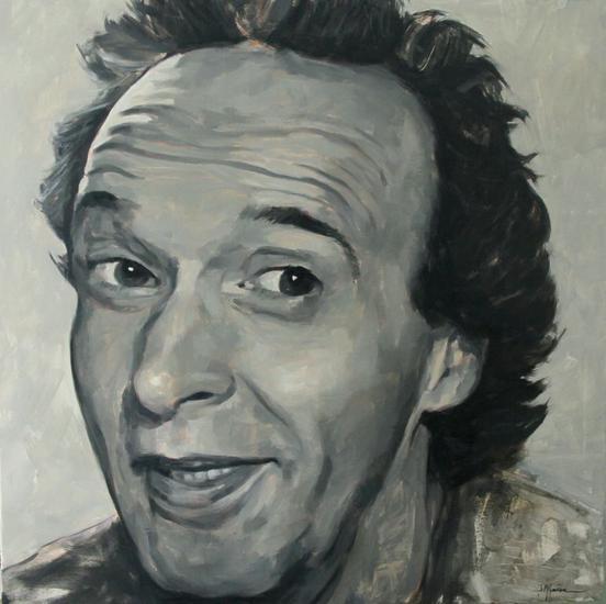 Roberto Benigni Lienzo Óleo Retrato