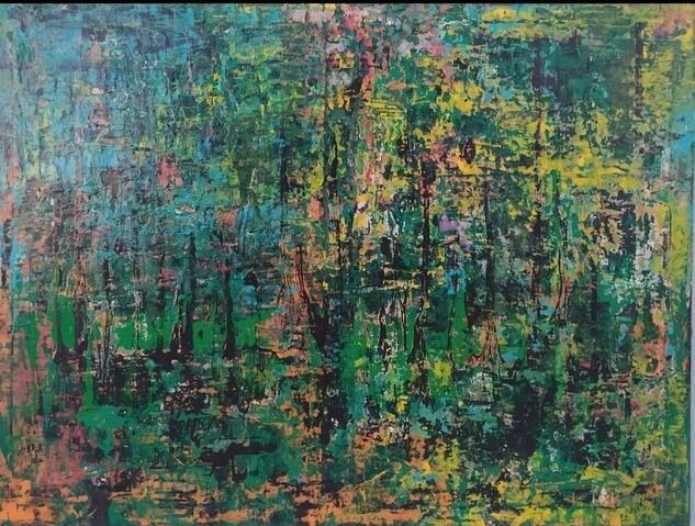 Subconsciente. Others Gouache Canvas