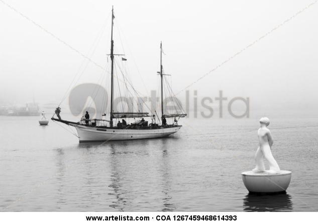 llegando a puerto Blanco y Negro (Digital) Otras temáticas