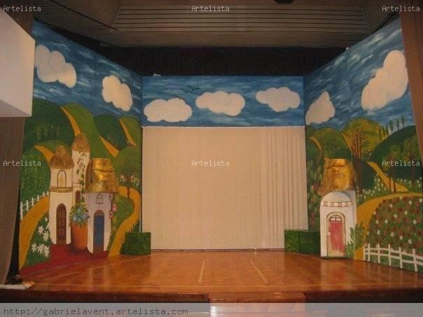 Escenografía  El Mago de Oz