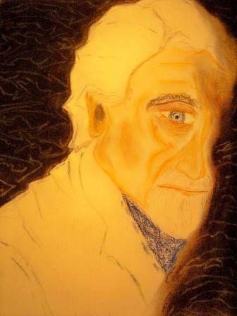 Pablo Armando Fernandez Pastel Cartulina Retrato