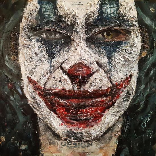 En busca del Joker perfecto Retrato Lienzo