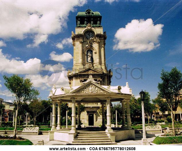 Reloj Monumental de Pachuca I Color (Química) Arquitectura e interiorismo