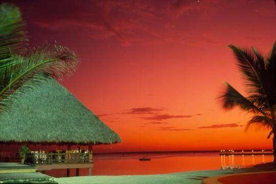 Boca Chica sunset Viajes Color (Química)