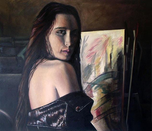 SIN TITULO Lienzo Óleo Retrato