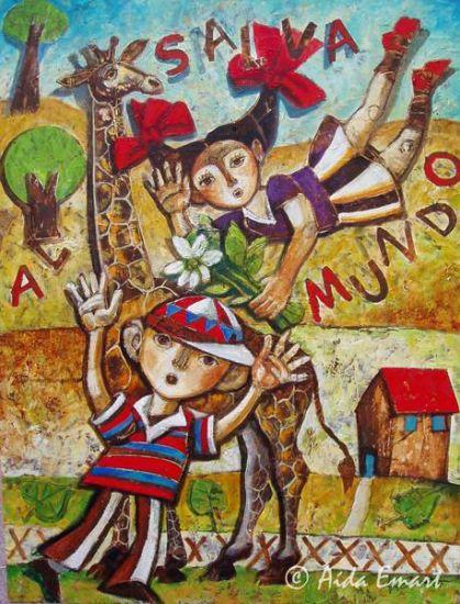 ¡Salva al mundo! - Aida Emart - artelista.com