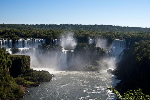 Cataratas del Iguazu Color (Digital) Naturaleza