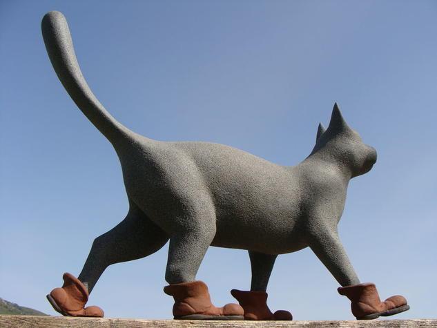 El gato con botas Figurativa Otros