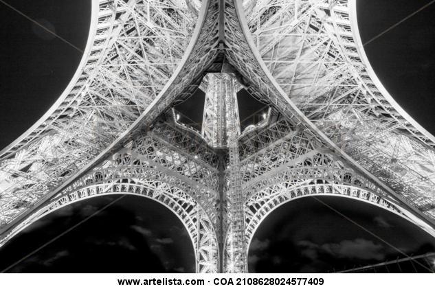 Eiffel Tower Color (Digital) Viajes