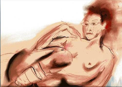 Danae Papel Pastel Desnudos