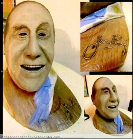 Tributo al Gral. Juan D. Perón Mixta Figurativa