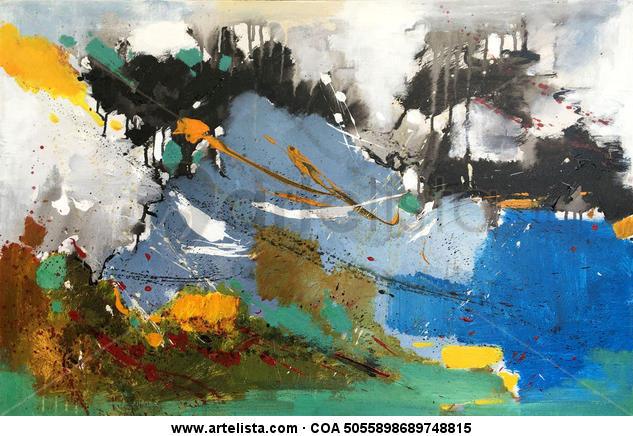 abstract 084 Otros Lienzo Óleo