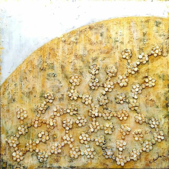 Brotes emergidos 5 Others Mixed media Canvas