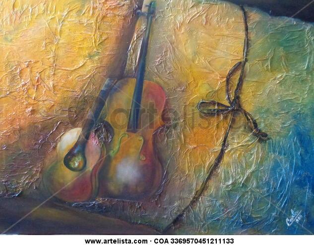 el musico Lienzo Otros Acrílico