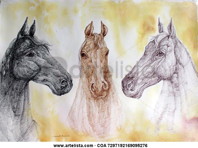 Three Horses Tinta