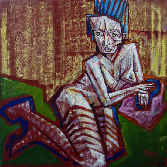 katarina Figure Painting Oil Canvas