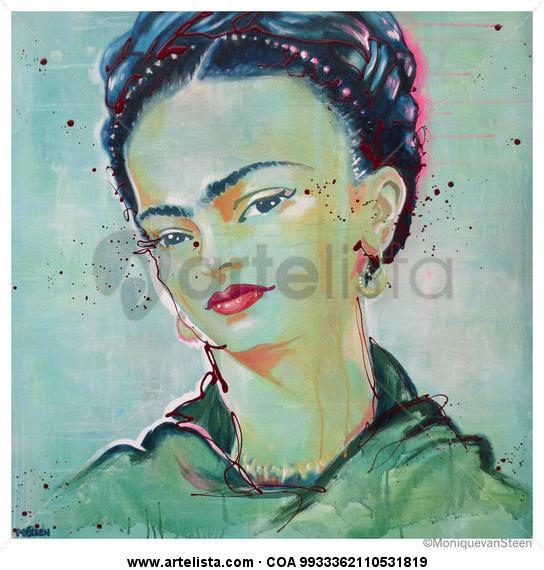 Frida Kahlo 2014 Tela Acrílico Retrato