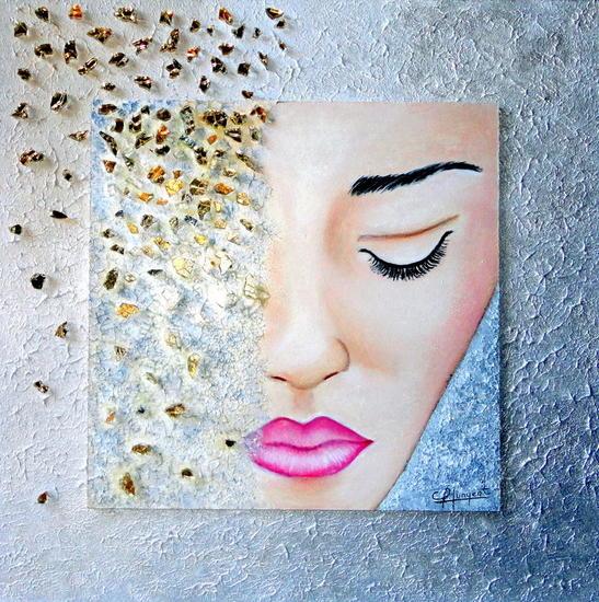 GLAMOUR Nº 8 Panel Acrylic Portrait
