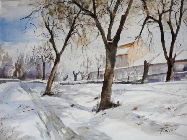 manto de nieve