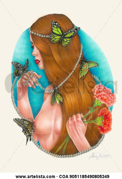 Elegance & Butterflies Lápiz