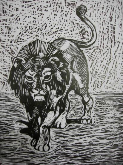 el rey Linograbado