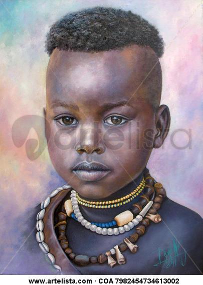 niño de raza negra 33