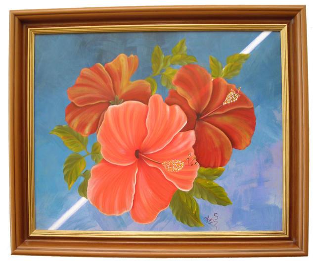 Esperanza Tabla Acrílico Floral