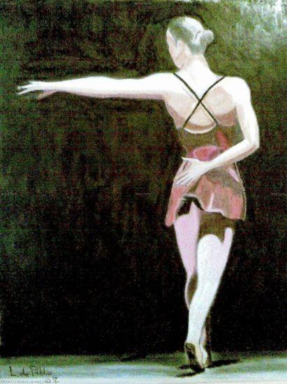 Bailarina Cera Otros Figura