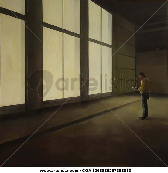 Vermeer en la memoria - 195 X 195 Tabla Acrílico Otros