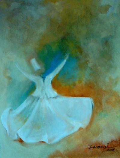 Spiritual Dance 2 Óleo Lienzo