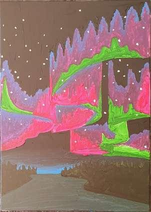 Cielo abstracto