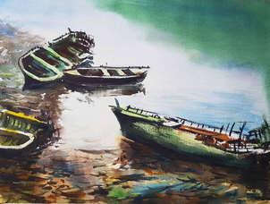 Barcas abandonadas