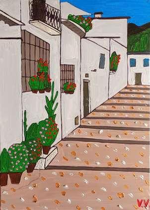 Una calle de Granada