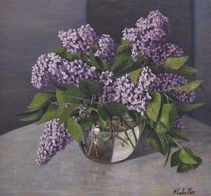 Jarron de lilas