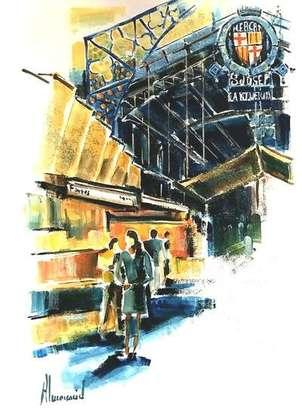 mercat st josep - la boqueria - barcelona