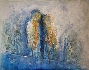 Amor en tinte azul