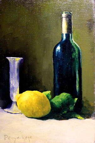 bodegon con limon