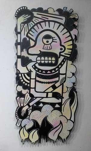 hombre azteca